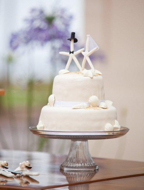 Тематический топпер для свадебного торта