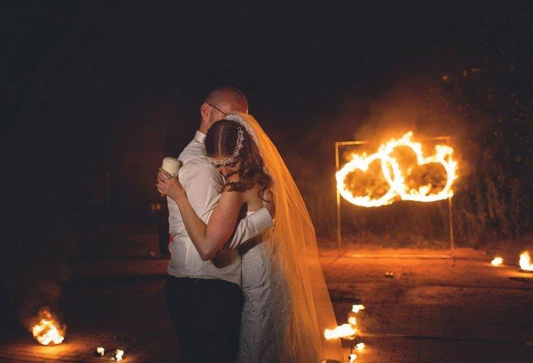 Шоу огненное на свадьбу
