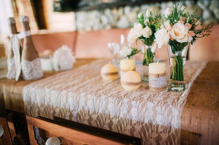 Свечи в декоре свадьбы