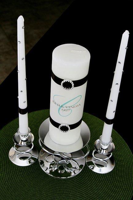 Свадебные свечи станут прекрасным напоминанием о  вашем торжестве