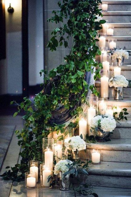 Световой декор - изысканно и романтично