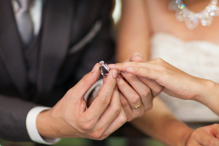 На каком пальце носят обручальное кольцо в России