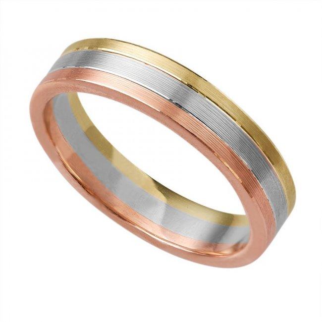 фото золота обручальное кольцо 3