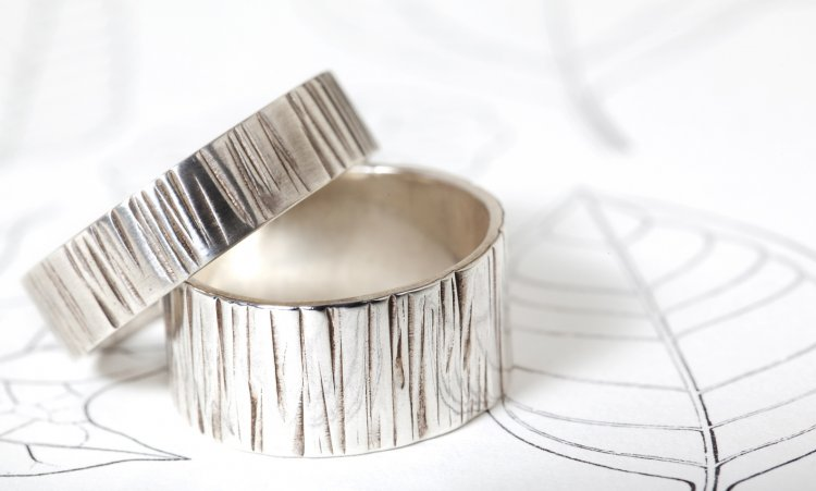 Стильные узоры на кольцах