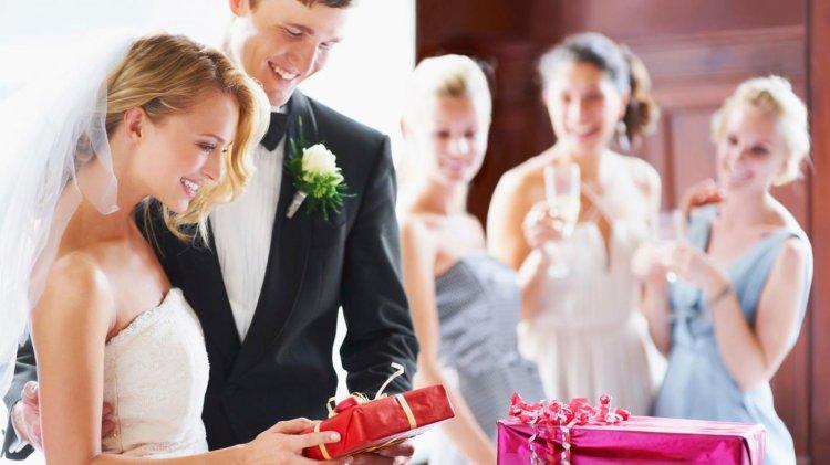 Актуальные подарки на свадьбу