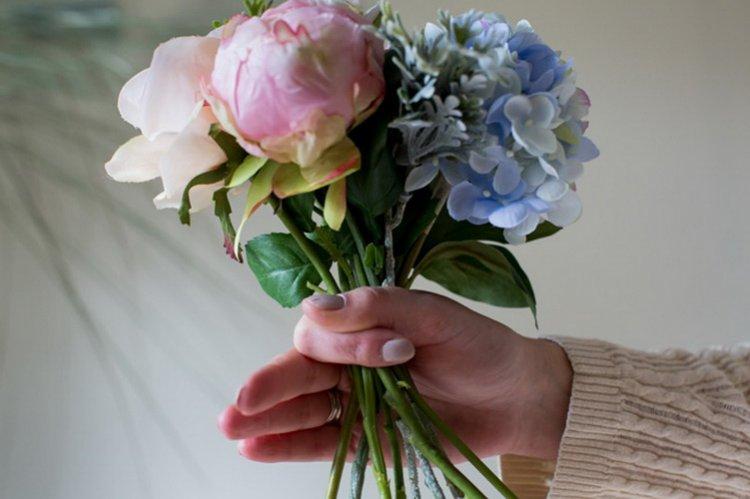 Акции букет невесты из живых цветов своими руками, горшках