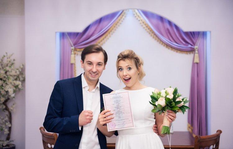 Свидетельство о регистрации брака