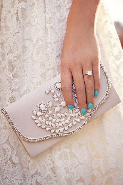 Клатч конверт свадебный