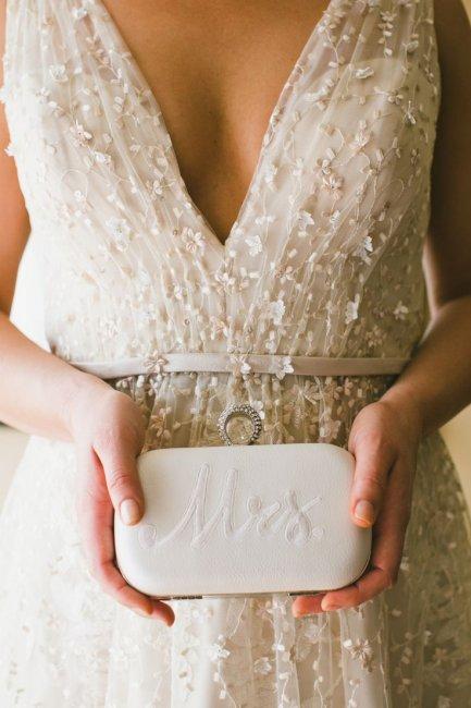 Сумочка клатч на свадьбу