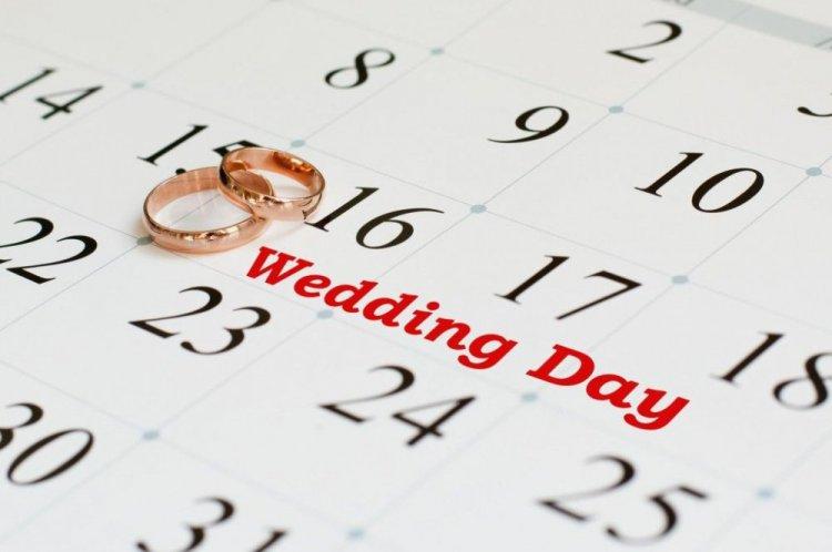 Какая дата для свадьбы лучше всего 2018