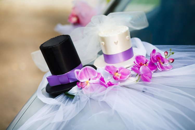 Украшение жених и невеста