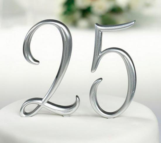 Годовщина 25 лет свадьбы картинки