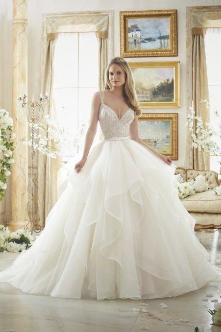 Свадебное платье на кринолине