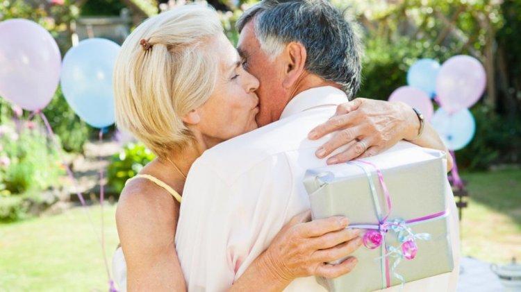 Конкурс на жемчужной свадьбе