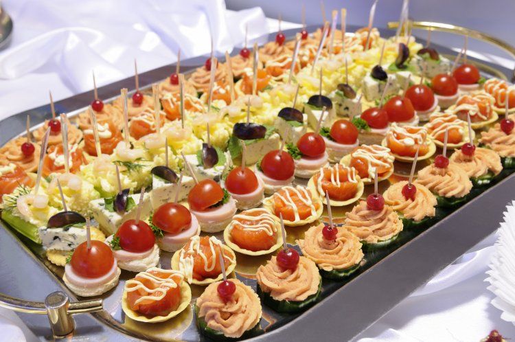 Общий расчет свадебных блюд