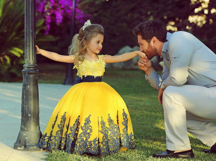 Детские платья на свадьбу