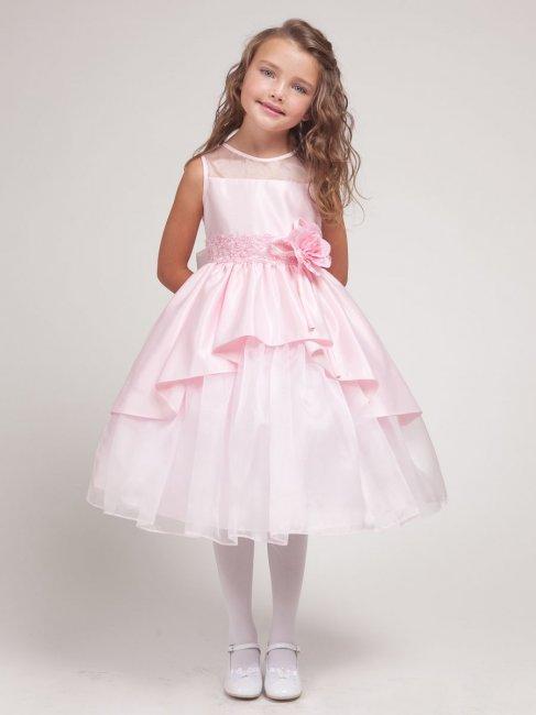 Короткое платье для девочки