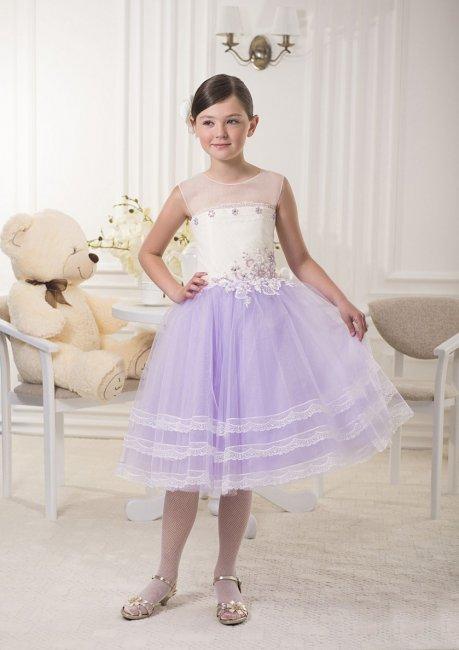 Кукольное пышное платье