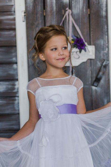 Милое платье для девочки на свадьбу