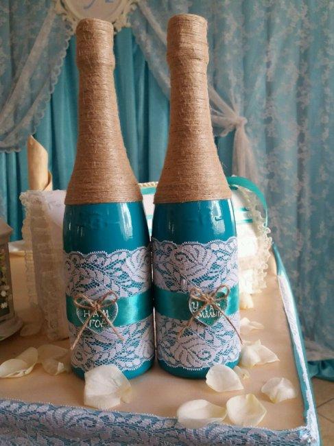Свадебное шампанское для молодых