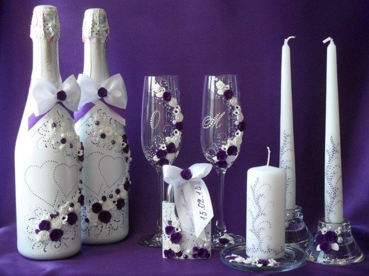 Правила выбора свадебных бутылок
