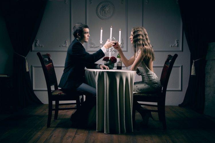 Романтическая фотосессия в студии