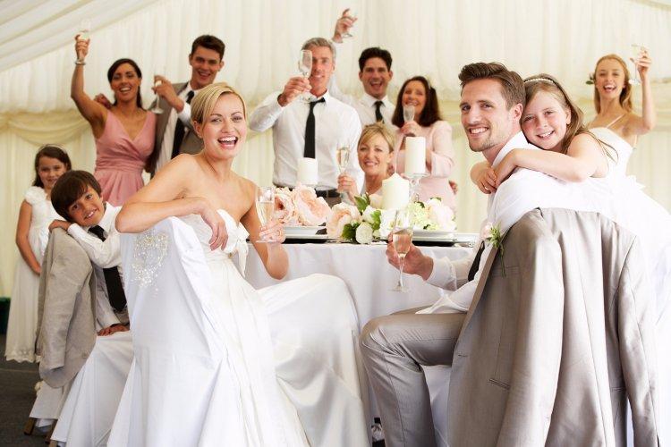 Тост на свадьбу весёлый