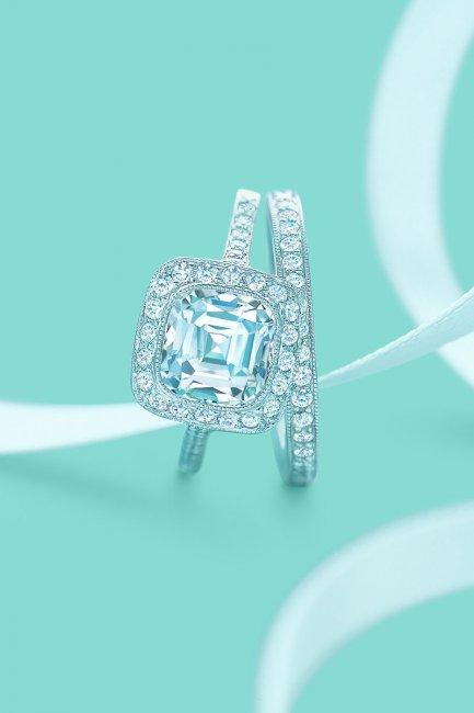 Обручальное колечко Tiffany