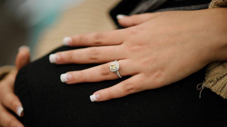 Красивое и стильное кольцо на свадьбу