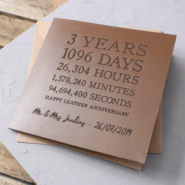 Поздравления с годовщиной свадьбы 3 года со дня