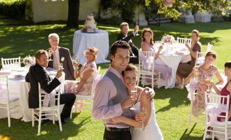 Маленькая свадьба без тамады
