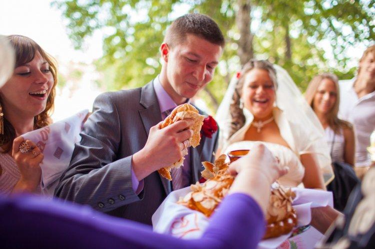 Каравай по сценарию свадьбы