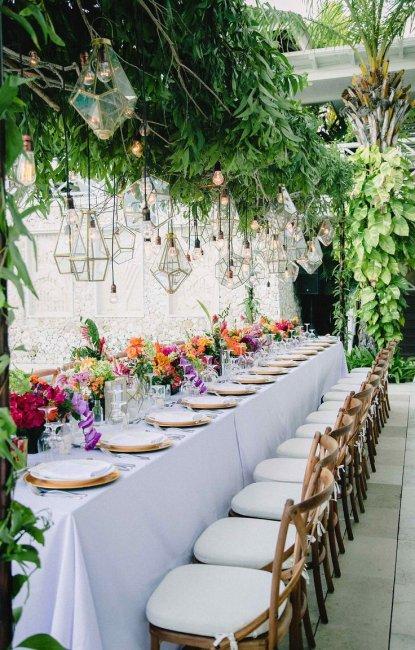 Свадьба в стиле Райский сад