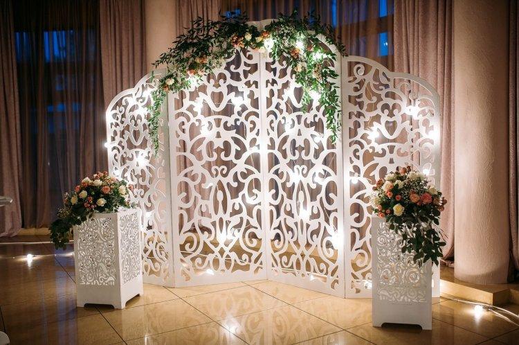 Свадебные арки ширмы