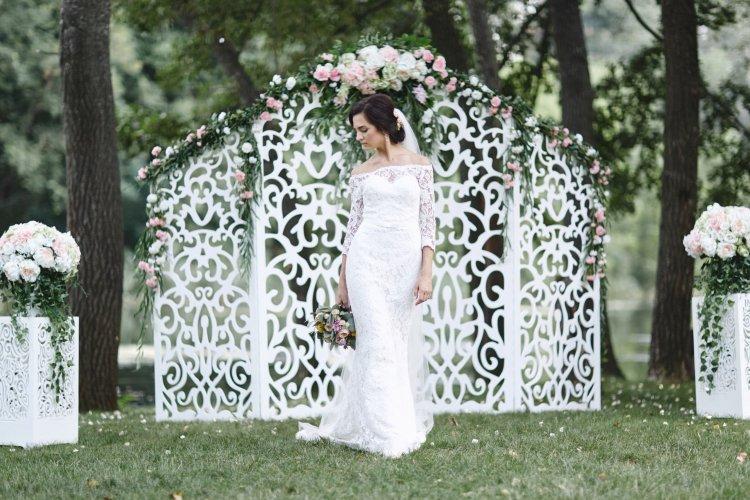 Ширма на свадьбу деревянная