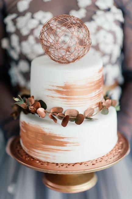 Торт на медную свадьбу (7 лет)