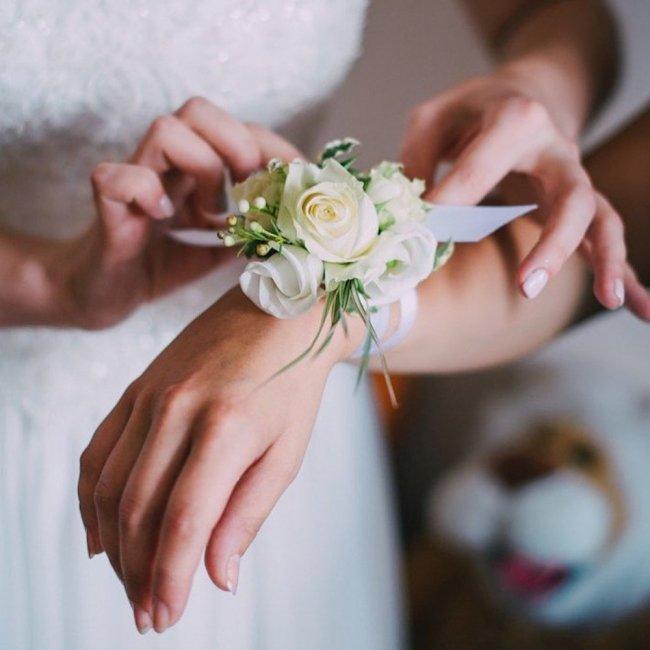 Браслеты из ленты подружкам невесты своими руками