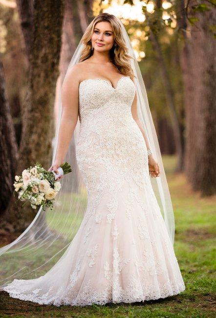 e8a78303b8fcf1f Свадебные платья больших размеров: фото и рекомендации по выбору