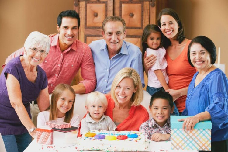 Семья из 10