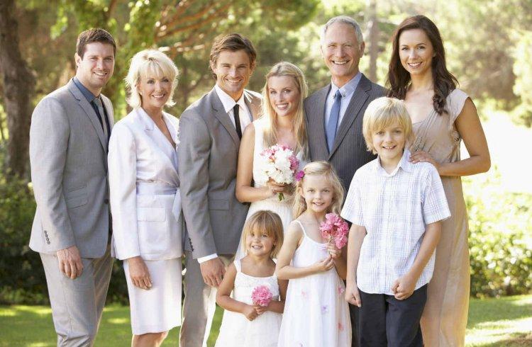 Родня после свадьбы