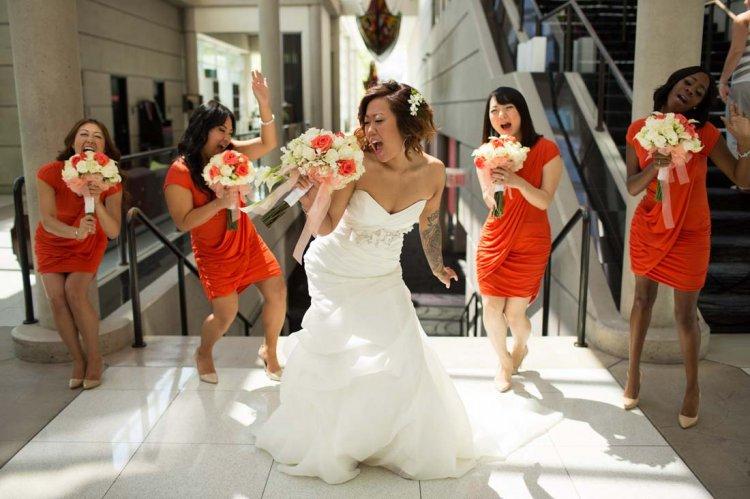 Оригинальное поздравление подруги невесты