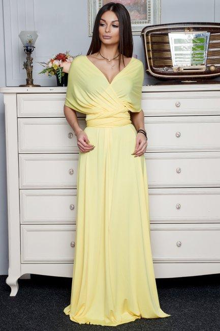 Вечернее длинное платье на свадьбу к подруге