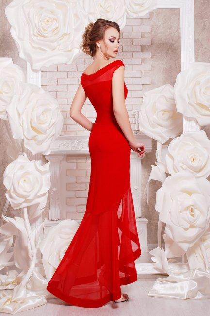 Красное платье на свадьбу к подружке