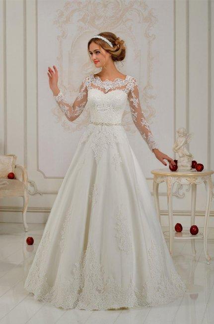 1aff34788a8a Платье А-силуэта на свадьбу. Платье А-силуэта для невысоких девушек