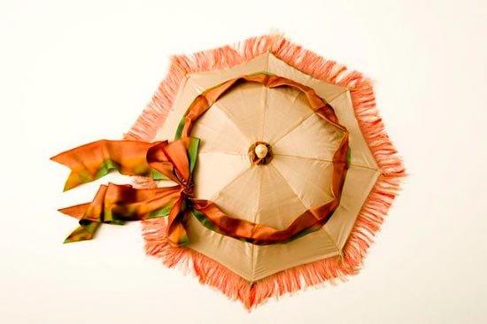 Зонт в форме шляпки