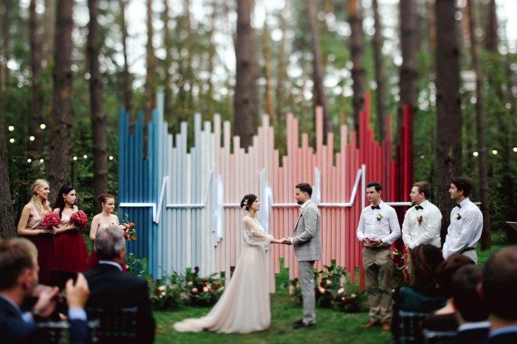 Модные тенденции в свадебном декоре