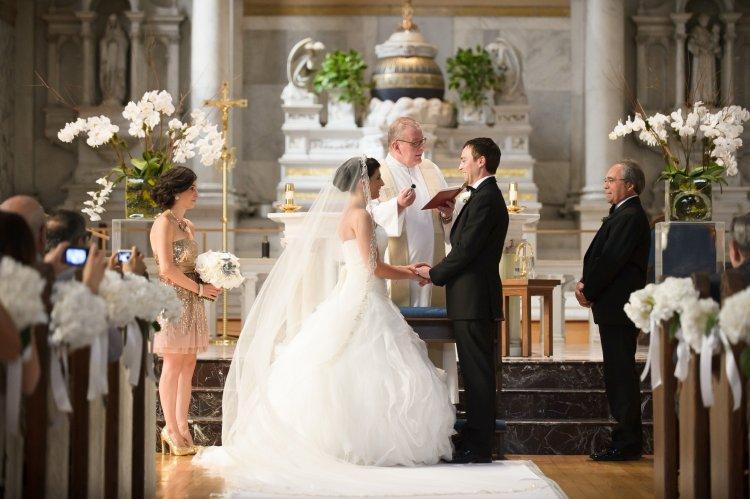 Венчание в костеле