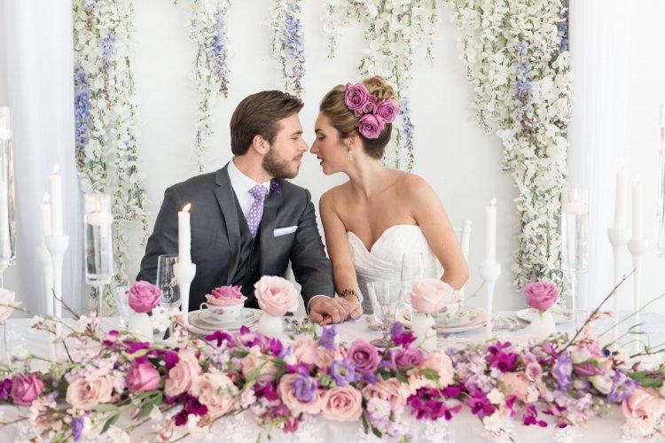 Украшение свадьбы весной