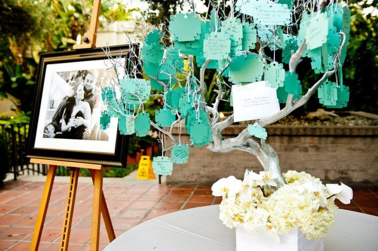 Свадебное дерево для пожеланий