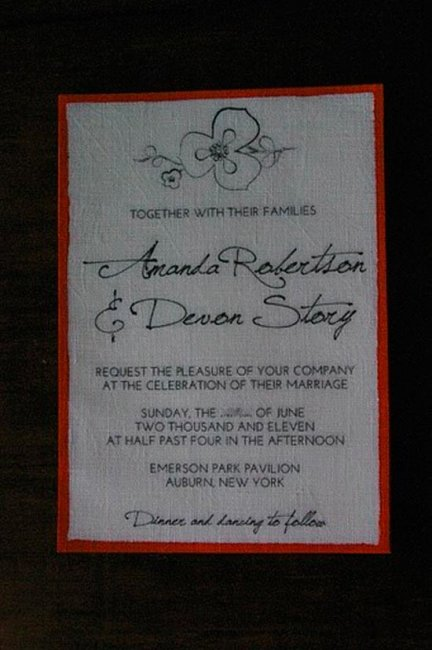 Готовый вариант приглашения для рассылки гостям